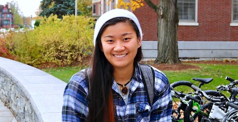UVM student Hannah Crowe-Cumella.