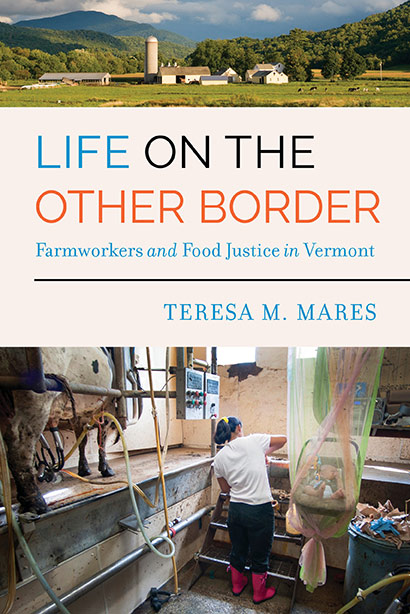 Life on the other border book cover of workers in a dairy barn