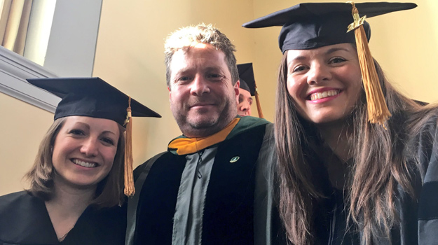 Phoebe Spencer, recent grad of UVM's Gund Institute, is the first PhD graduate of the Economics for the Anthropocene program