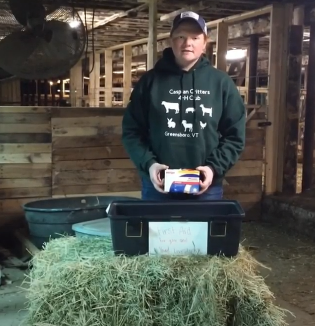 A team demonstration of First Aid For You and Your Livestock