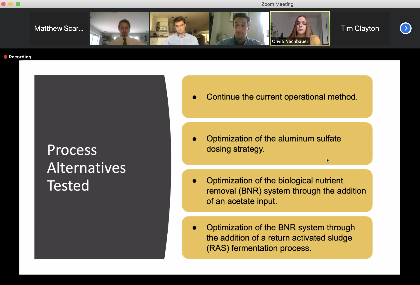 Screenshot of online presentation slide