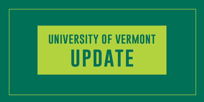 University of Vermont Update