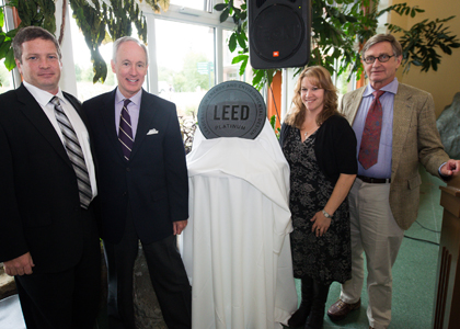 LEED platinum medallion