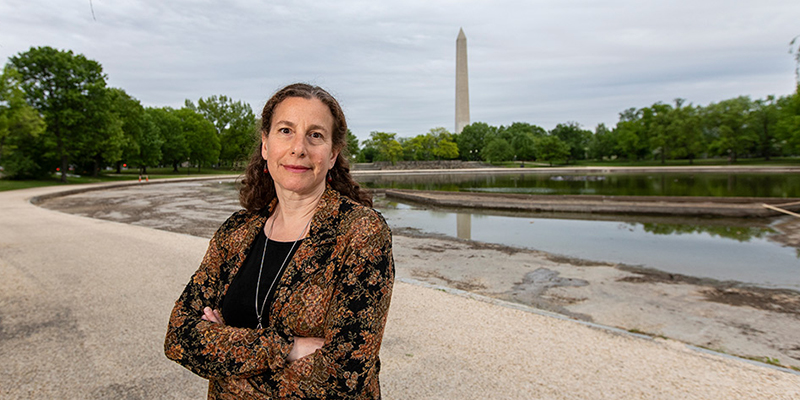 UVM alumna Alma Ripps in Washington, D.C.