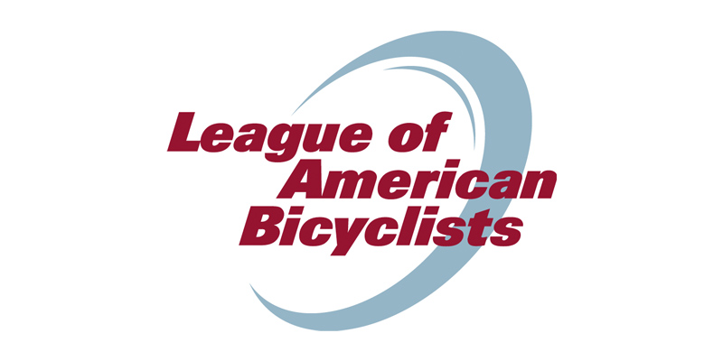 league of bicyclists logo