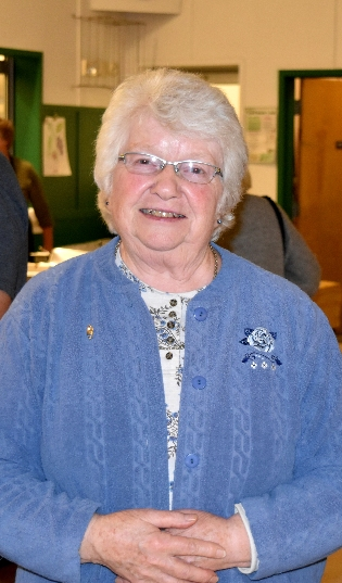Arlene Conant of Randolph Center was honored at the Banquet for her long-time involvement in 4-H