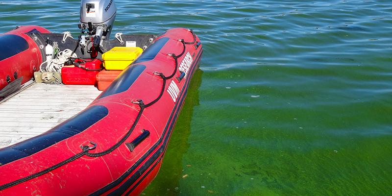UVM Rescue boat