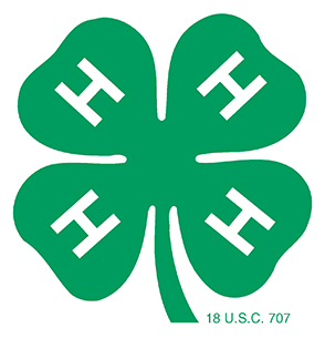 4-H clover national logo