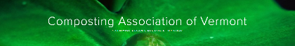 composting association of vermont banner