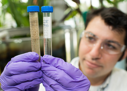 EcoMachine water samples