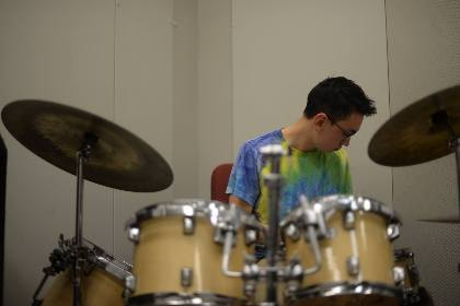 rehearsal (photo by Neville Caulfield)