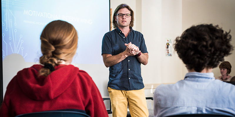 Lance Smith, associate professor in counseling