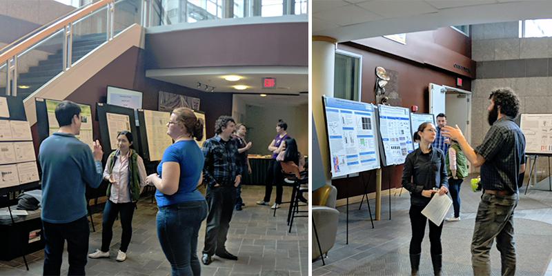 Postdocs with posters