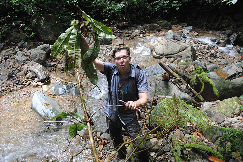 Michael Sundue in New Guinea