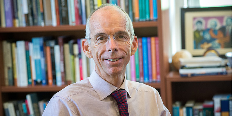 University of Vermont Dean of the College of Education and Social Services Scott Thomas