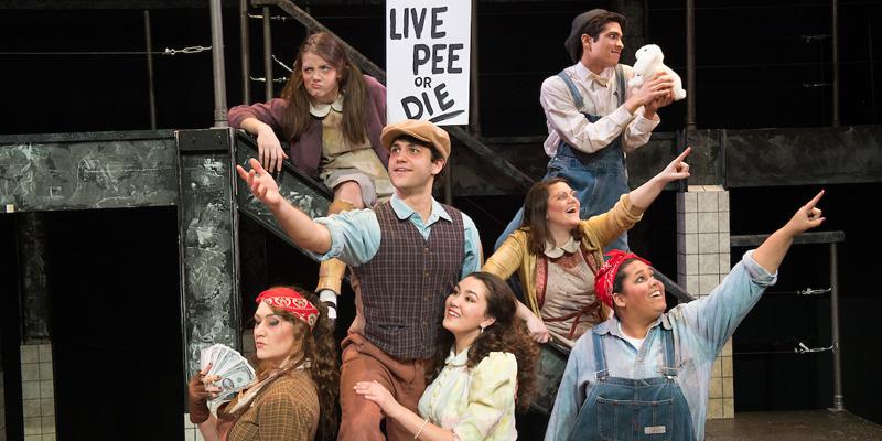 Cast of Urinetown