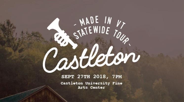 Vermont Symphony Orchestra concert header - Castleton