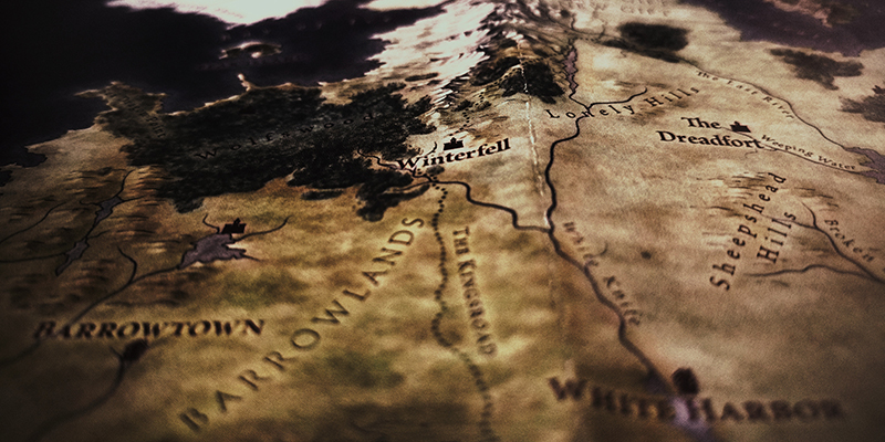 A map of Winterfell