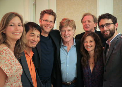 Jill Rosemblum Tidman with Robert Redford
