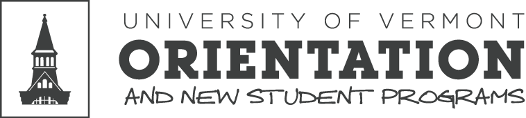 UVM Orientation & New Students Logo