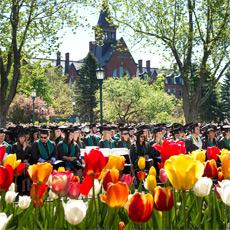 graduation on the green