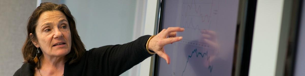 UVM economist Stephanie Seguino