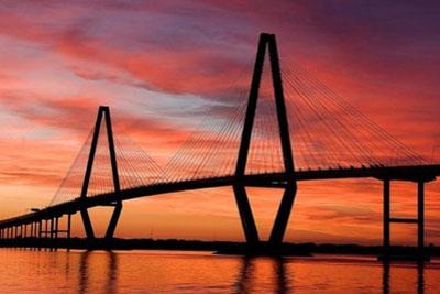 Scenery picture of a bridge