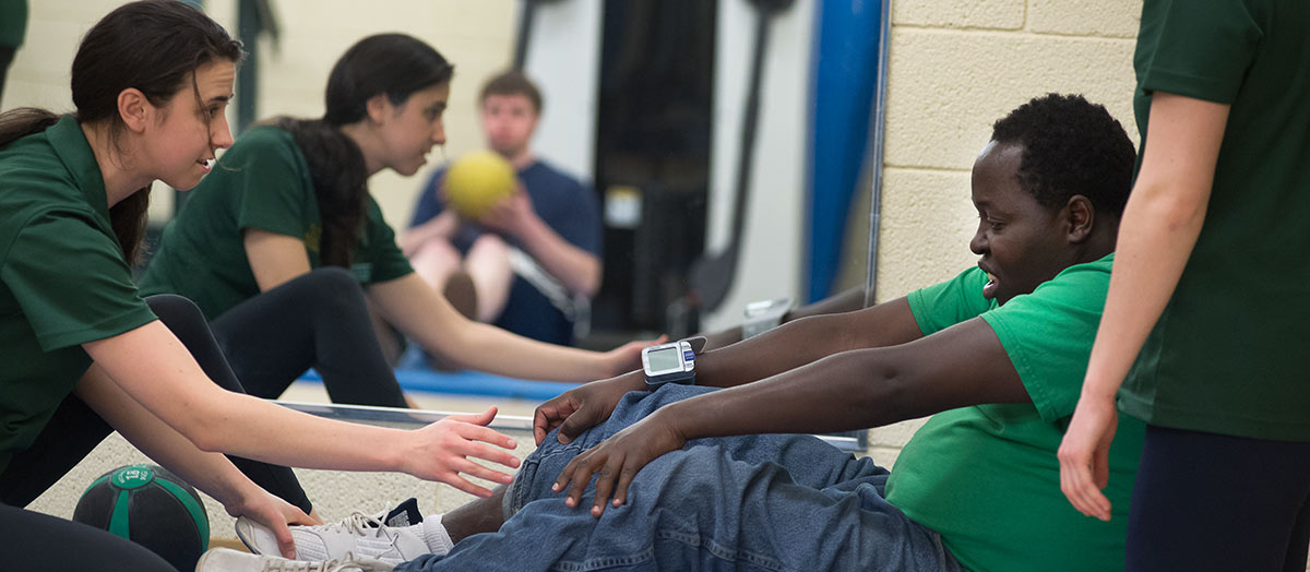 Clinical Opportunities in Rehabilitation and Movement Science Benefit Students, Local Community