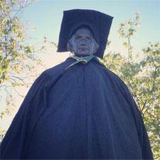 campus statue of Ira Allen