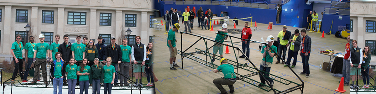 UVM students compete at steel bridge competition