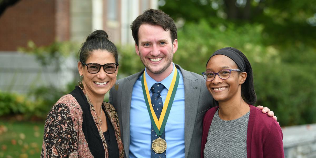 Jason C. Garvey with CESS colleages Tracy Arámbula Ballysingh and Tiffanie Spencer.