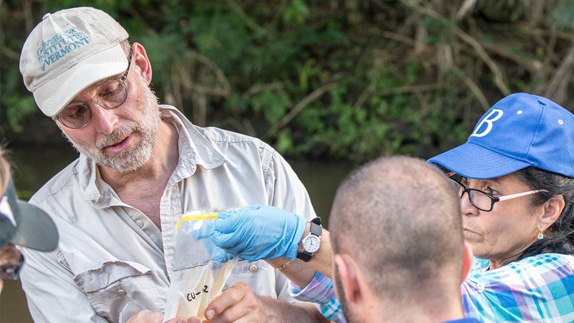 Paul teaching in the field in Cuba