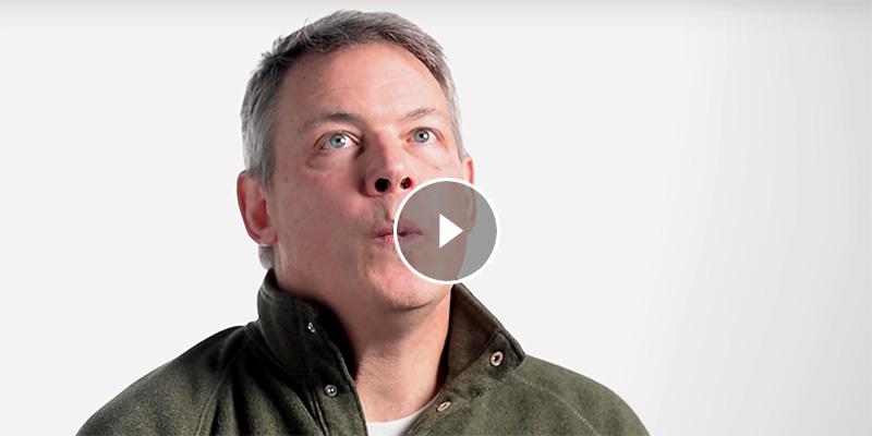 Allan Strong calls birds
