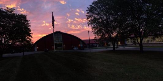 Sunrise on MRC