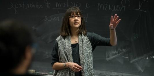 Professor Nikki Khanna lectures