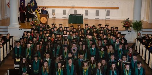 2018 Honors College Scholars