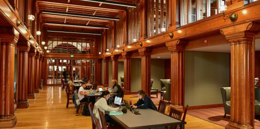 Billings Library interior