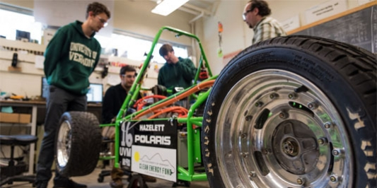 students - building a high-performance hybrid and electric vehicle