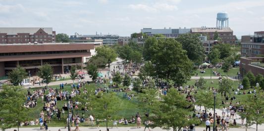 Class of 2022 picnic at UVM
