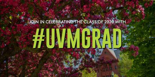 Join in celebrating the class of 2020 #uvmgrad