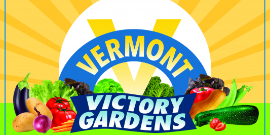 Vermont Victory Gardens Logo