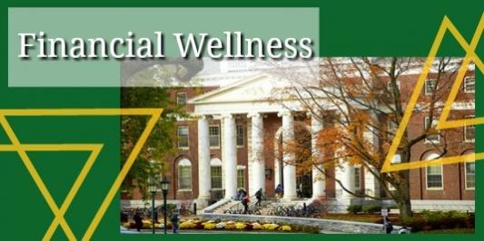 Financial wellness logo, waterman building.