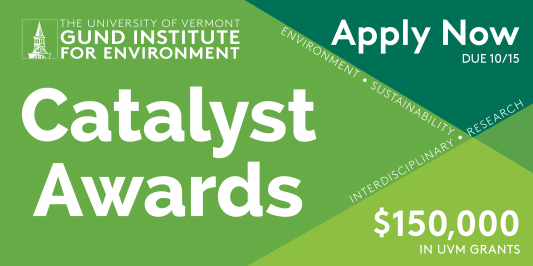 Apply Now, due October 15, for $150,000 in UVM Grants