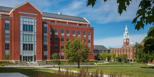 Architectural campus photo fall 2020