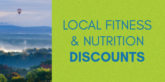 Local Fitness and Nutrition Discounts
