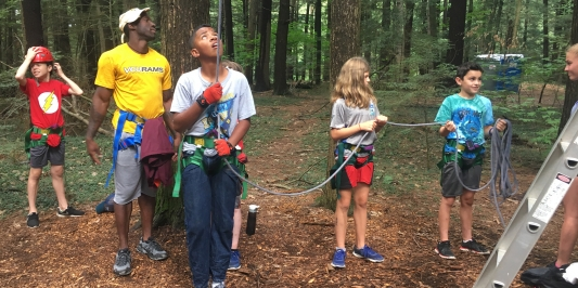 Camper Belay Team
