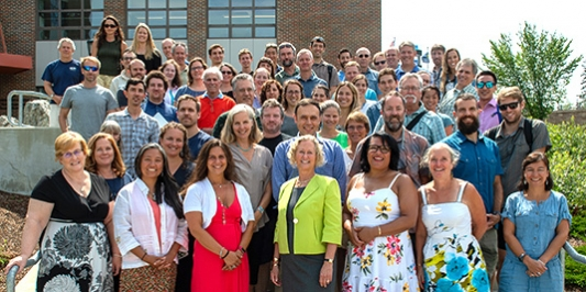 Faculty and staff in the Rubenstein School