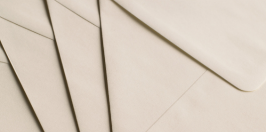 A stack of envelopes