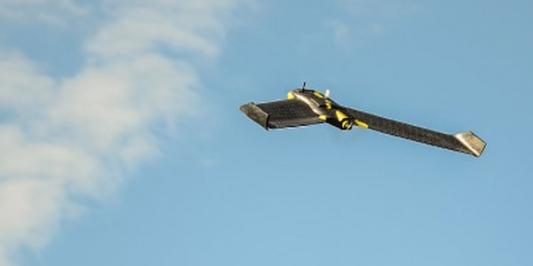 UVM UAS Team eBee taking flight