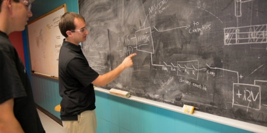 Electrical engineering graduate student groups